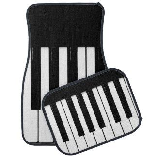 Piano Keys Car Mats