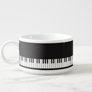 Piano Keys Chili Bowl