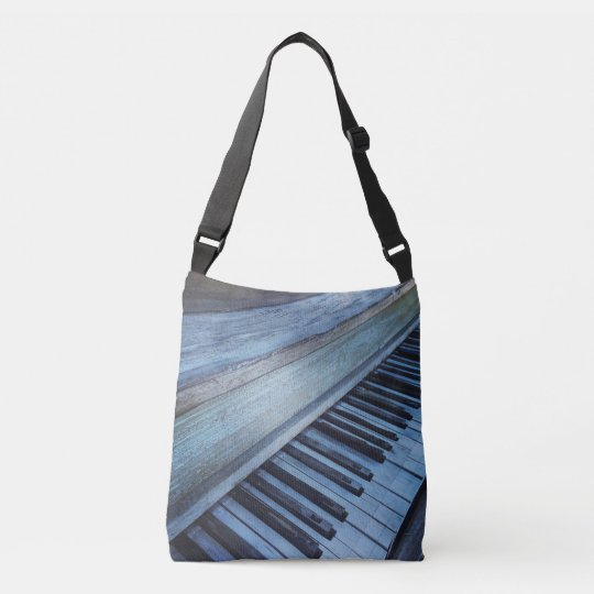Piano Keys Cross body Tote for Music Lovers