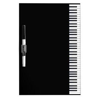 Piano Keys Dry Erase Whiteboards