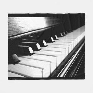 Piano Keys Fleece Blanket