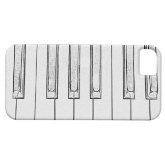 Piano Keys iPhone 5 Cases