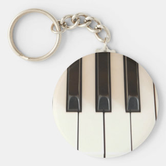 Piano Keys Keychain