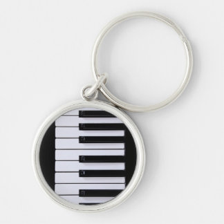 Piano Keys Keychain