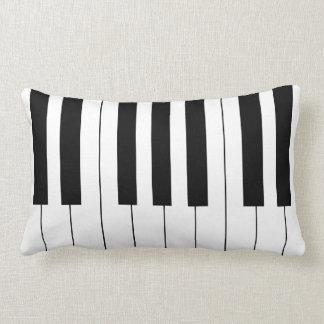 piano keys lumbar pillow