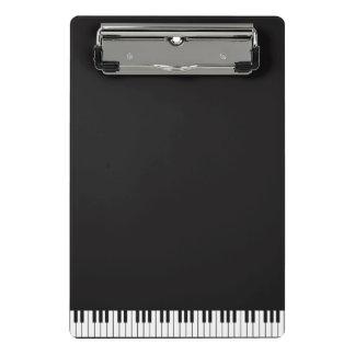 Piano Keys Mini Clipboard