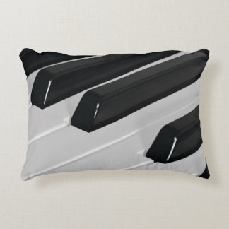 Piano Keys- Music Lover Decorative Pillow