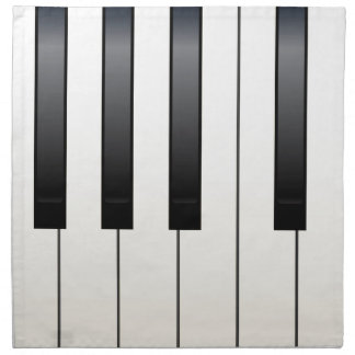 Piano Keys Napkin