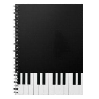 Piano Keys Notebooks