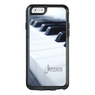 Piano Keys Personalized with Name OtterBox iPhone 6/6s Case