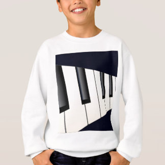Piano Keys Perspective Sweatshirt