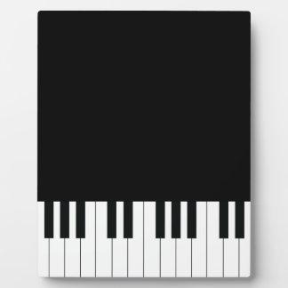 Piano Keys Plaque