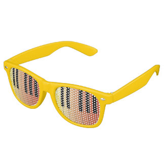 Piano Keys Retro Sunglasses