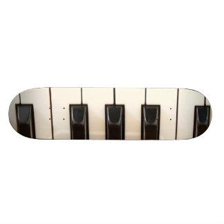 Piano Keys Skate Board Deck