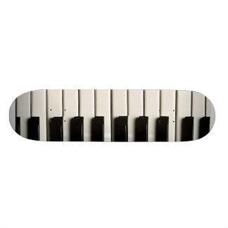 Piano Keys Custom Skateboard