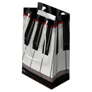 Piano Keys Small Gift Bag