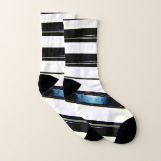 Piano Keys Socks 1
