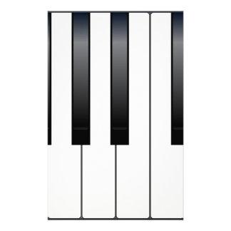 Piano Keys Stationery