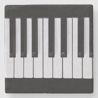 Piano Keys Stone Coaster
