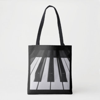 Piano Keys Tote Bag