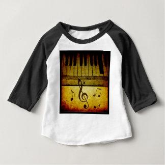 Piano Keys Vintage Baby T-Shirt