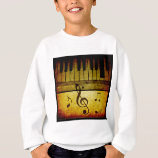 Piano Keys Vintage Sweatshirt