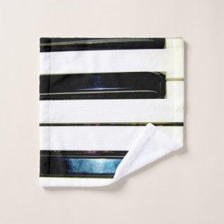 Piano Keys Wash Cloth