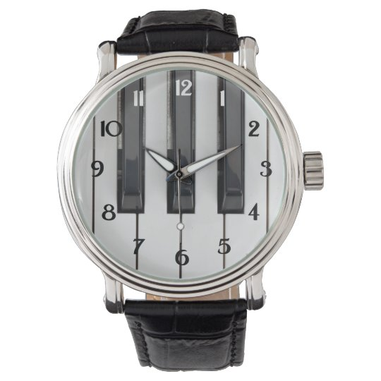 Piano Keys Watch