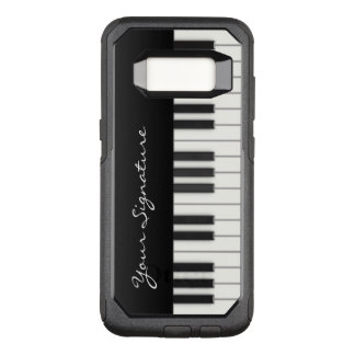 Piano Keys with Signature OtterBox Commuter Samsung Galaxy S8 Case