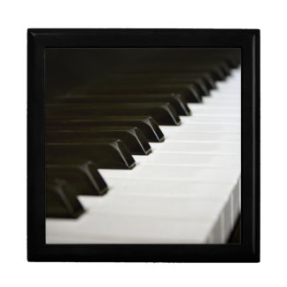 Piano Keys wooden jewelry keepsake gift box
