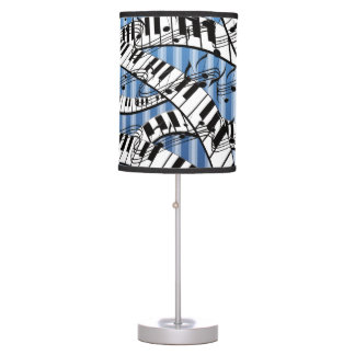 Piano Lamp Curvy Keyboards Lamp By Juleez