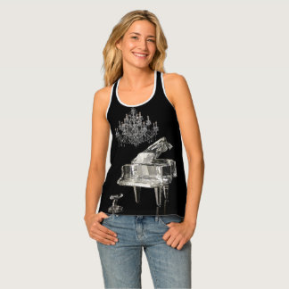 PIANO LESSONS TANK TOP
