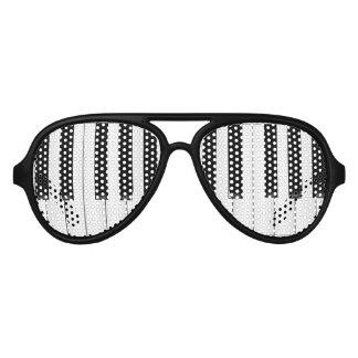 Piano Man Aviator Sunglasses