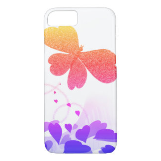 Piano Melody~ Sparkling Butterfly Case-Mate iPhone Case