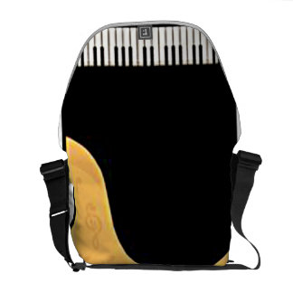 Piano Messenger bag