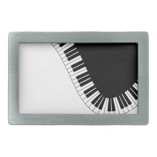 PIANO MUSIC BELT BUCKLE