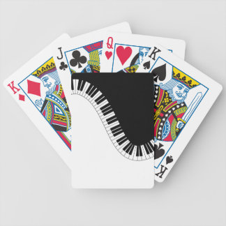 PIANO MUSIC BICYCLE PLAYING CARDS