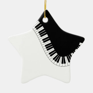 PIANO MUSIC CERAMIC ORNAMENT