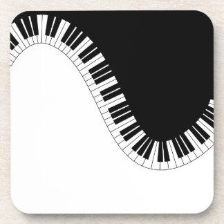 PIANO MUSIC COASTER