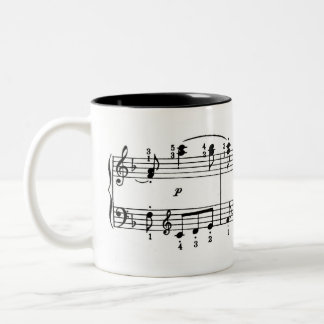 Piano Music Coffee Mug
