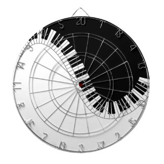 PIANO MUSIC DARTBOARD