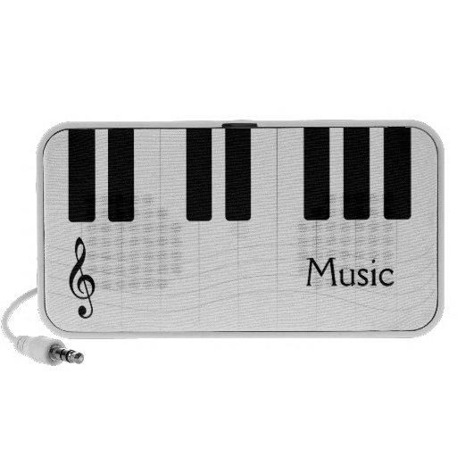 Piano Music Doodle Speaker