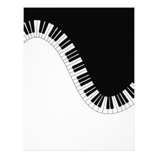 PIANO MUSIC LETTERHEAD