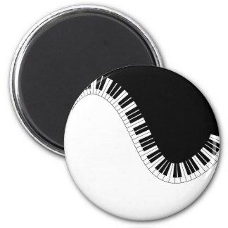 PIANO MUSIC MAGNET