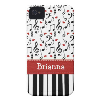 Piano Music Note iPhone 4 / 4s Case-Mate Cover