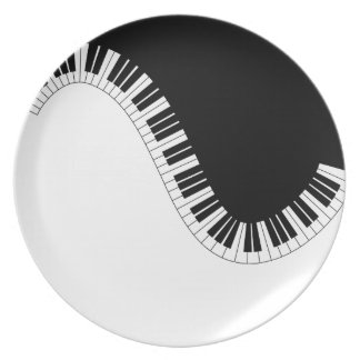 PIANO MUSIC PLATE