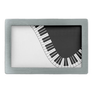 PIANO MUSIC RECTANGULAR BELT BUCKLES