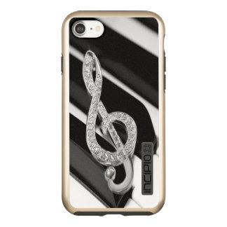 piano Music symbol Incipio DualPro Shine iPhone 7 Case