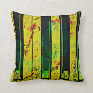 Piano Music Throw Pillow