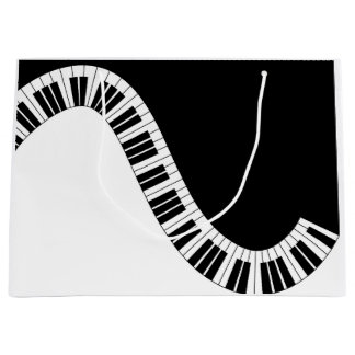 Piano Musical Gift Bag